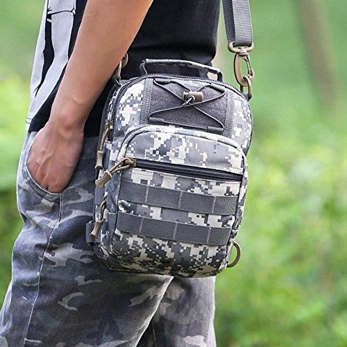 broadroot Unisex Sport Rucksack Outdoor Camping Wandern Brust Crossbody Schultertasche acu digital cVZ71Xm