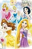 Grupo Erik GPE4803 Poster Disney Princess-Grupo, carta, Multicolore, 91 x 61,5 x 0,1 cm