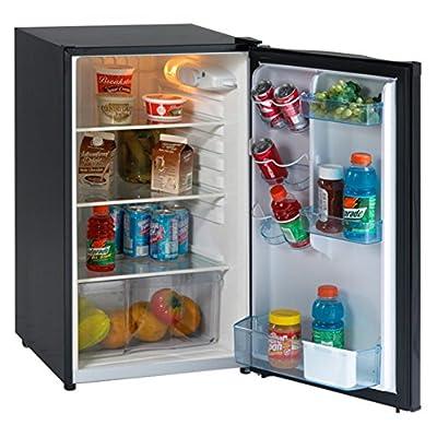 Avanti AR4446B 4.4 cu. ft. Counterhigh Refrigerator - Black