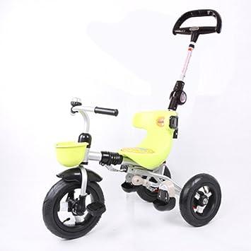 Triciclos Trike Kids 3 Wheels niños Bicicleta 1-4 años Carrito para bebés Trolley Bicicleta para niños (Color : Fruit Green) : Amazon.es: Juguetes y juegos