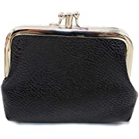 Bageek Womens Coin Purse Coin Pouch Vintage Clasp Closure Change Purse