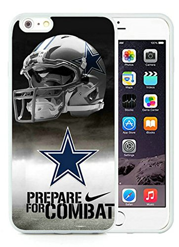 Genuine Dallas Cowboys (2) White iPhone 6S Plus 5.5 Inches Shell Case,iPhone 6 Plus TPU Case