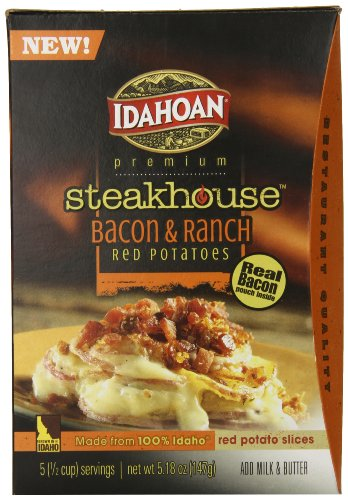 Idahoan Steakhouse Casserole, Bacon and Ranch, 5.18 Ounce (Pack of 8)