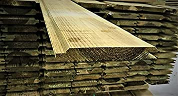 ITALFROM Cuentas Láminas de Madera de Pino impregnadas de Calidad A/B Grosor 21 X