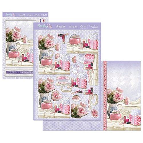 Hunkydory Crafts Shabby Chic Delightful Dresser Card Kit shabchic901 STEP101