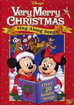 Disney Very Merry Christmas Sing Along Songs.Amazon Com Disney S Sing Along Songs Very Merry Christmas