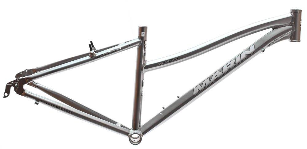 17'' MARIN SAUSALITO Women's Hybrid City 700c Bike Frame Grey Aluminum NOS NEW