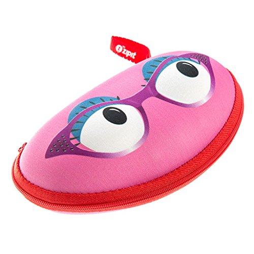 (ZIPIT Beast Glasses Case/Storage Box, Pink )