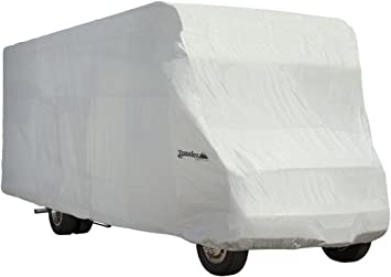 26 Feet-29 Feet   Exceptional Polypropylene Weather Protected Fabric System Class C RV Waterproof Cover Breathable Fits Ultimate Heavy Duty Heat Shield by Toiles VR