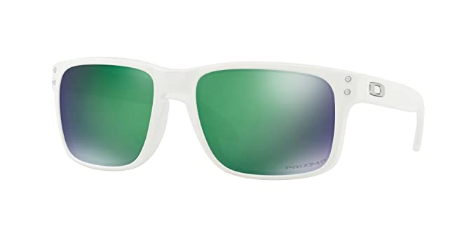 f7338c2a88 Amazon.com  OAKLEY 9102 - 9102H2 SUNGLASSES MATTE WHITE  PRIZM JADE ...
