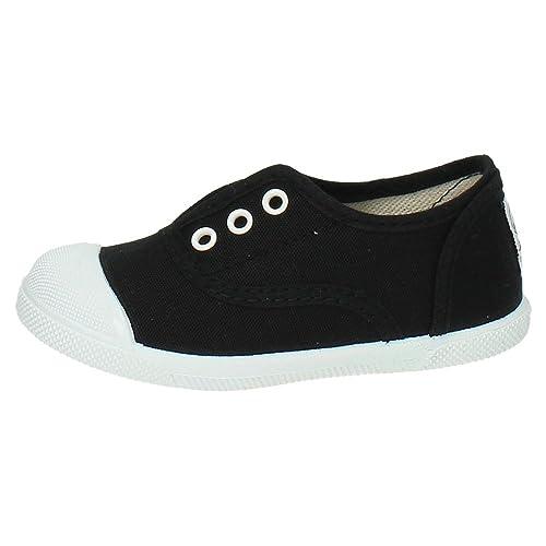JAVER 150 Bambas Lonas Y Goma NIÑO Zapatillas: Amazon.es: Zapatos y complementos