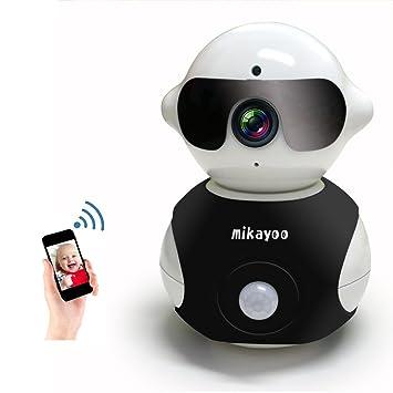 Amazon.com: Mikayoo Cámara inalámbrica, portátil en forma de ...