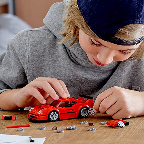 LEGO Speed Champions Ferrari F40 Competizione 75890 Building Kit (198 Pieces)