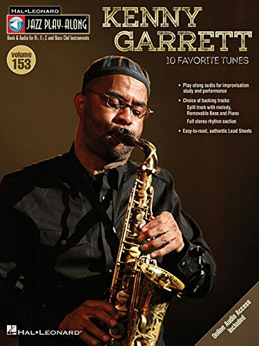 Kenny Garrett: Jazz Play-Along Volume 153