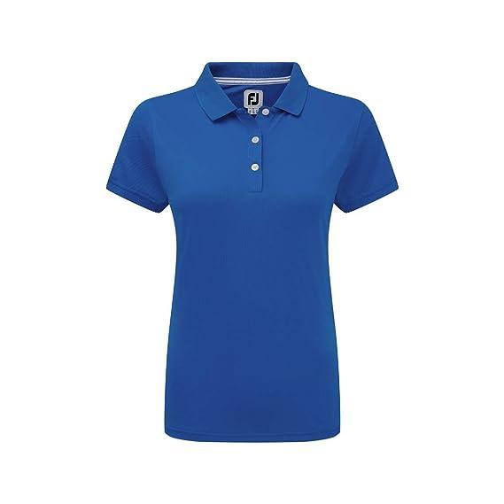 Footjoy Stretch Pique Solid Shirts, Polo para Mujer: Amazon.es ...