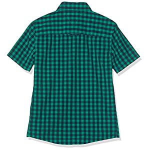 Tommy Hilfiger Boy's Essential Overdye Gingham S/S Blouse