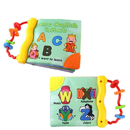 Dacawin Tm  Sound Soft Cloth Baby Intelligence Development Learn Picture Cognize Book  A