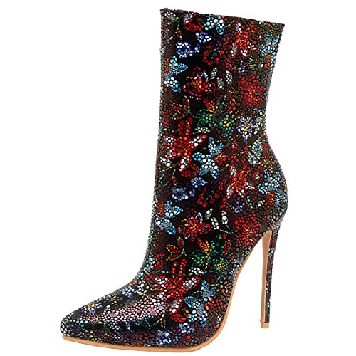 AIYOUMEI Women's Classic Boot Red WDeM36d
