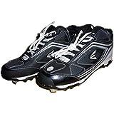 Easton Men's Phantom MD Black Team Baseball Cleats ,Black,10.5 M US