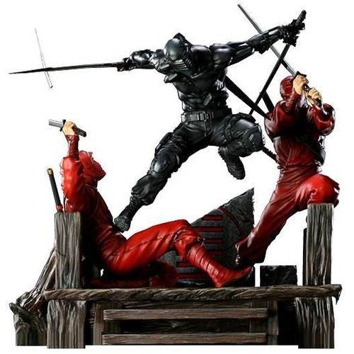 Gi Joe Diorama (Sideshow G.i. Joe Snake Eyes Vs. Red Ninjas Exclusive Diorama)