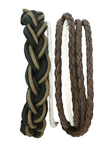 ShalinIndia Rope Multi-Layer Bracelet for Men Birthday Gift For Him (Unusual Valentine Gifts For Him)