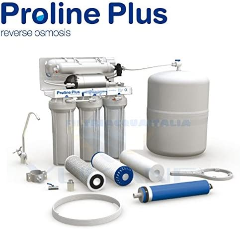 Purificador de agua por ósmosis inversa, 5 niveles de filtración: Amazon.es: Hogar