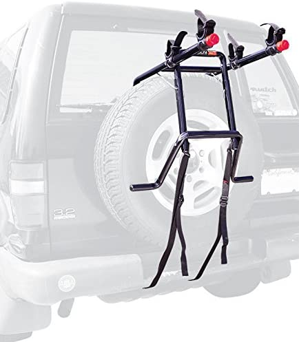 2-Bike Spare Tire Tire Rack Allen Sports Deluxe 15 inches Extra wide bottom