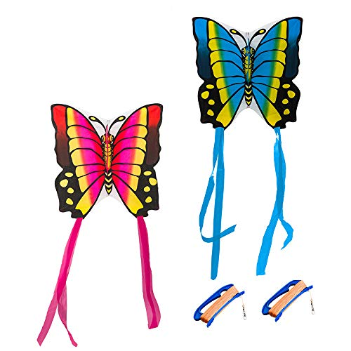 Mint's Colorful Life 2 Butterfly Kites for Kids/Adults, 35