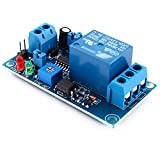Yosoo DC 12V On/Off Delay Relay Module,Relay Board External Trigger Automotive Relay with Adjustable Timer