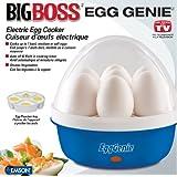 Big Boss 8865 Egg Genie Electric Egg Cooker, Blue