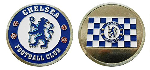 UEFA Collectible Challenge Coin- Logo Poker- Lucky Chip for Chelsea