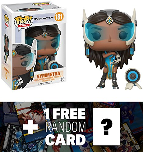 Symmetra: Funko POP! Games x Overwatch Vinyl Figure + 1 FREE