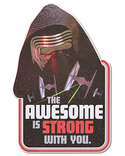 (American Greetings Jumbo Star Wars Birthday Greeting Card for Boy with)