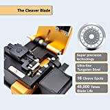 Optical Fiber Cleaver with 16 Cleaving Spots and