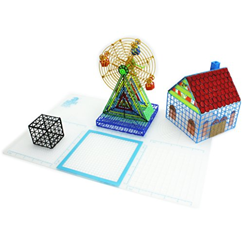 3Dmate Base Multi-Purpose Patent Pending 3D Design Mat for 3D Printing Pens by 3Dmate