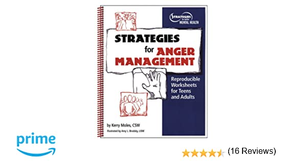 Strategies For Anger Management: Reproducible Worksheets For Teens ...