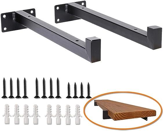 Heavy Duty Floating Shelf Bracket Easy  Install Floating Shelf Bracket 10 Inch