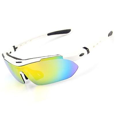 1d71a23f6ecdf2 Hommes et femmes Lunettes de soleil polarisées Sports de plein air Lunettes  anti-ultraviolets Lunettes de protection contre le vent pour l escalade et  le ...