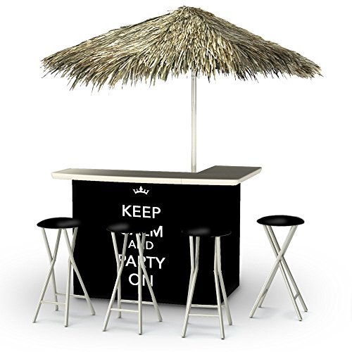 Best of Times Portable Deluxe Bar; Keep Calm And