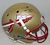 Deion Sanders Autographed Signed Florida State Seminoles Full Size Helmet - JSA Certified - Autographed College Helmets