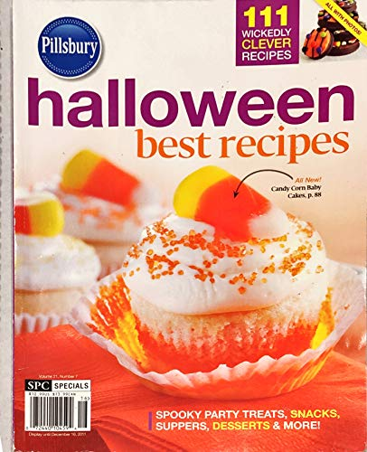 Pillsbury Halloween Best Recipes - December 2011