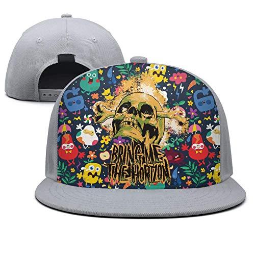 Pvris Band Boy Girl Adjustable Flat Fitted Hat Baseball Cap Black
