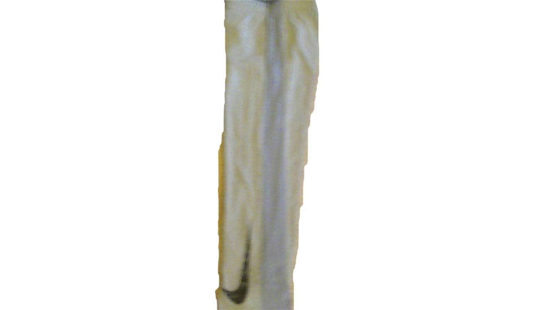 Nike Boys Dri-Fit Legacy Training Pants Large Gray