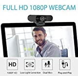 Webcam 1080p – eMeet C960 Full HD Webcam with
