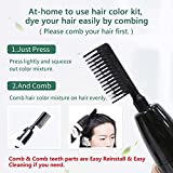 HJL Hair Color Permanent Hair Dye Cream with Comb