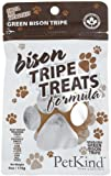 PetKind Green Bison Tripe Treats for Dogs, 6 oz