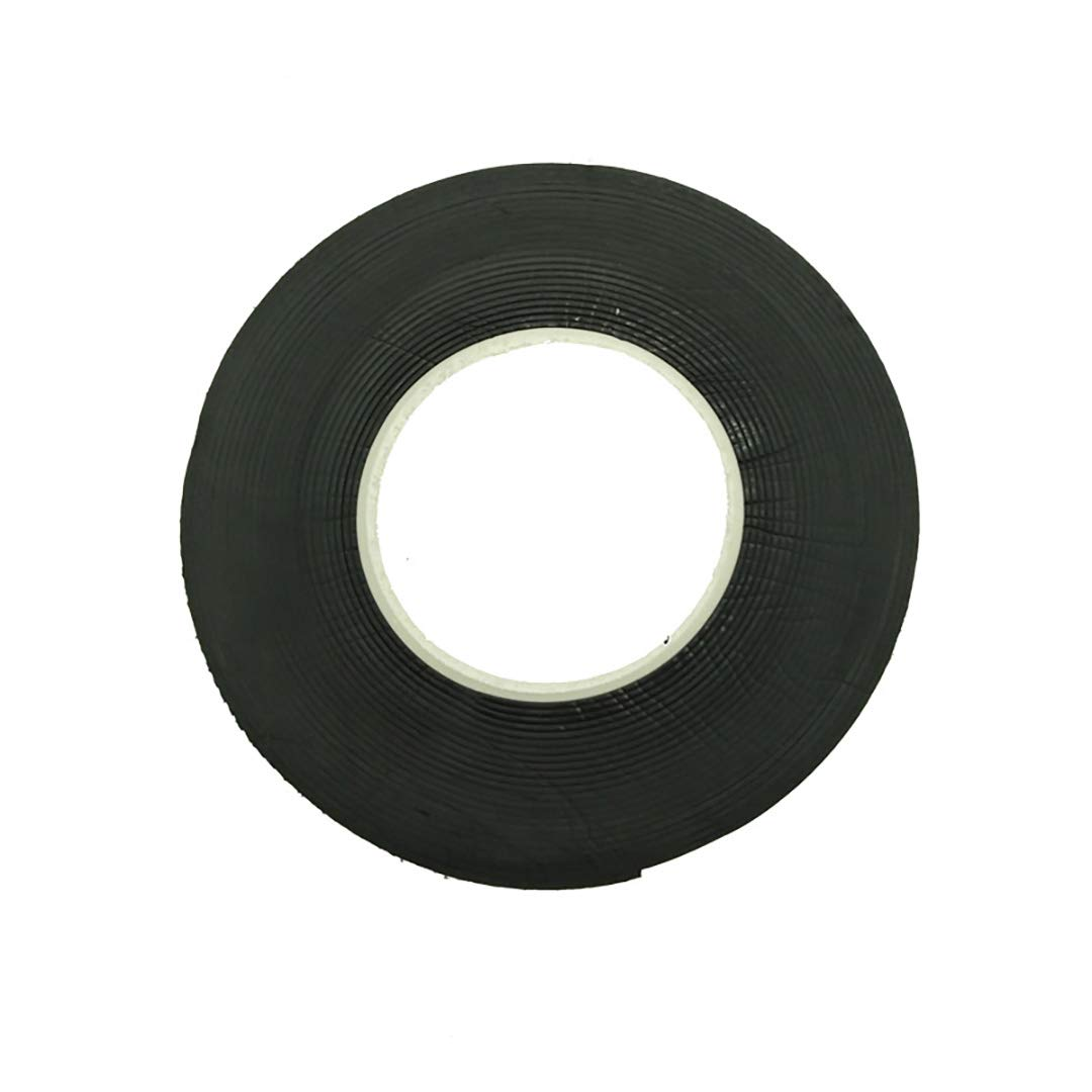 BeVarious Black Insulation Tape, 2 Roll/Set Rubber Material Strong Adhesive Insulation Electrical Tape Electrical Work Repair Tools