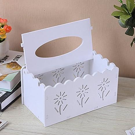 Generic Fashion Simple Caja de pañuelos Restaurante Decorado Caja de pañuelos de plástico Extracción Cajas de Carton Restaurante Decorado: Amazon.es: Hogar