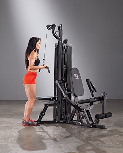 Marcy pro lbs resistance circuit trainer two station