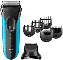 Braun Series 3 Shave&Style 3010BT 3-in-1 Electric Wet&Dry Shaver + Precision Trimmer